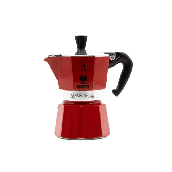 Bialetti Moka Express Rot Emotion