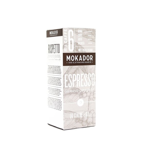 Mokador Big Cup Long Kaffeepads 20 Stk.